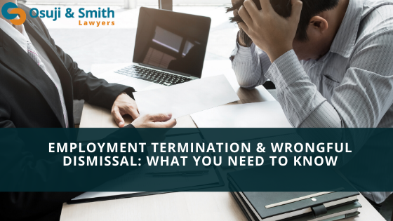 Employment Termination & Wrongful Dismissal - What You Need to Know Calgary
