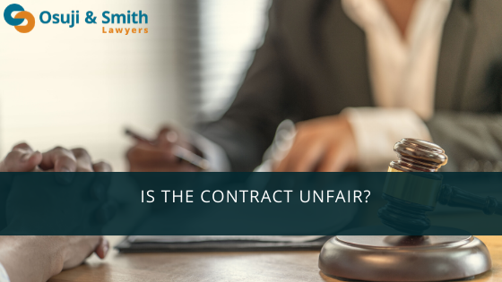 Is the Contract Unfair
