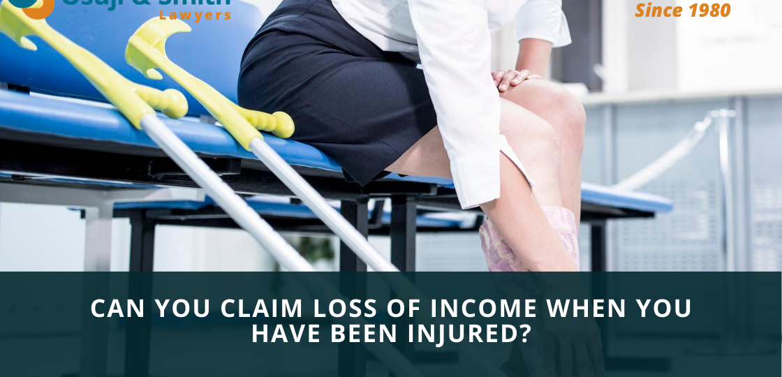 Can you claim loss of income when you have been injured