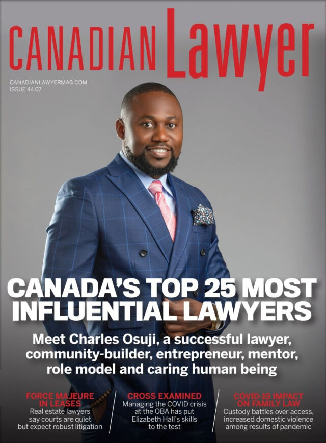 charles_osuji_on_the_canadian_lawyer_magazine_cover