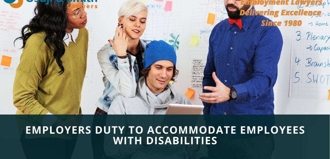 Calgary employment lawyers - Employers Duty to Accommodate Employees With Disabilities