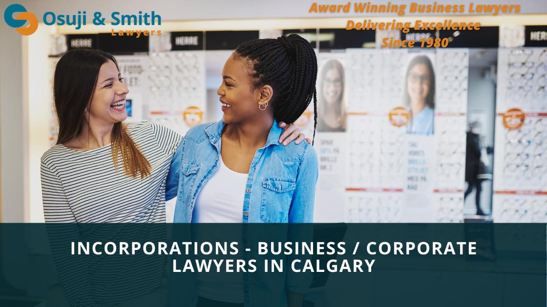 Calgary Business and Corporate Lawyers - Osuji & Smith Lawyers