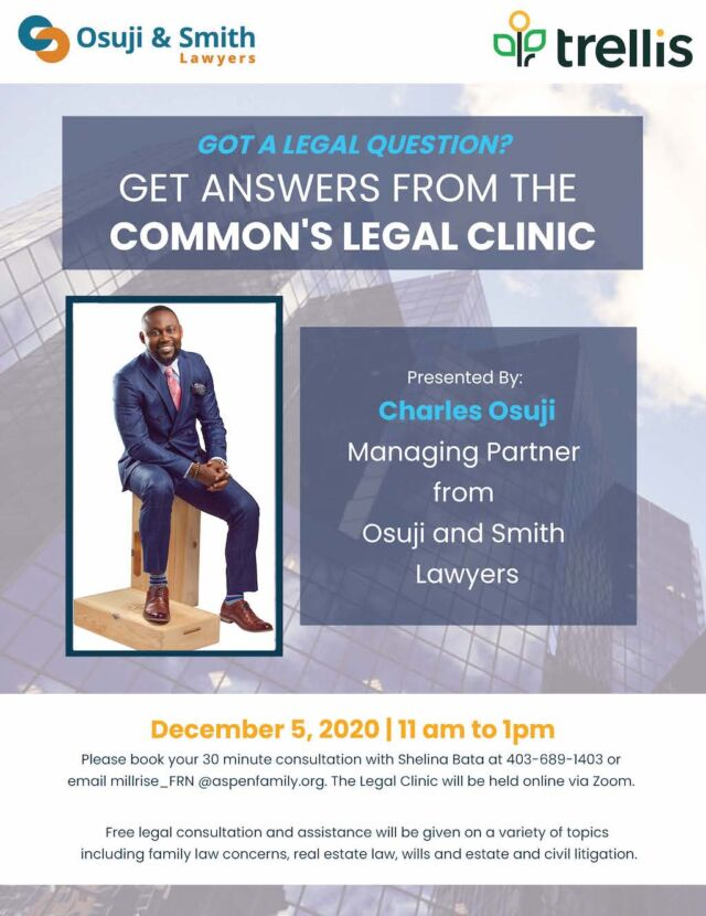 The Commons Legal Clinic_Osuji_and_Smith_Lawyers