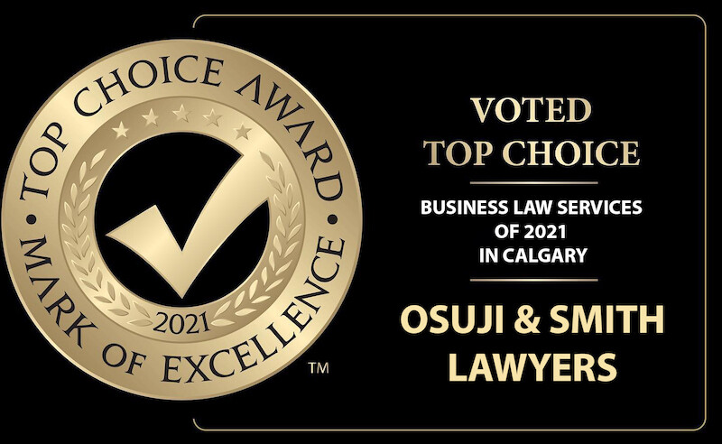 osuji_and_smith_lawyers_voted_top_choice_business_law_services_of_2021_in_Calgary