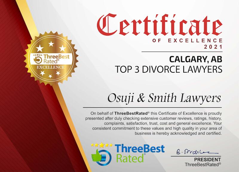 TOP 3 Divorce Lawyers Calgary