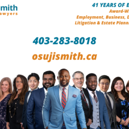 Osuji Smith Lawyers 2021 Calgary Team