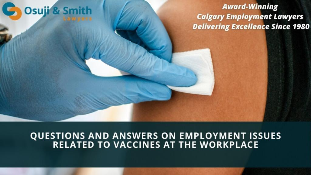 Questions And Answers Employment Issues Vaccines At The Workplace