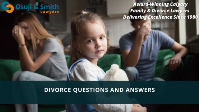 Calgary Family DIVORCE Lawyers Questions and Answers