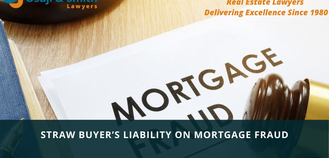 Straw Buyer's liability on Mortgage Fraud