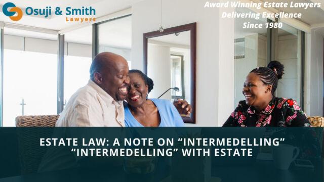 "Estate Law: A note on ""Intermedelling"" ""Intermedelling"""