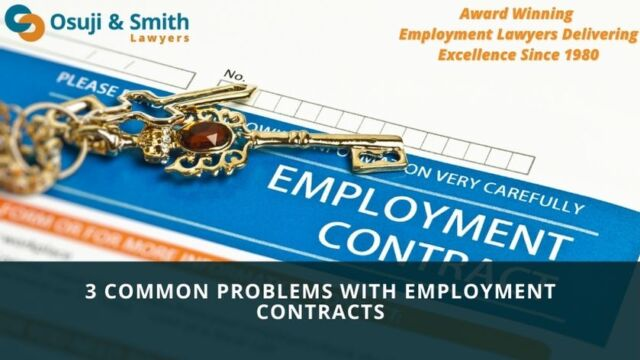 3 Common Problems with Employment Contracts - Employment Law Calgary