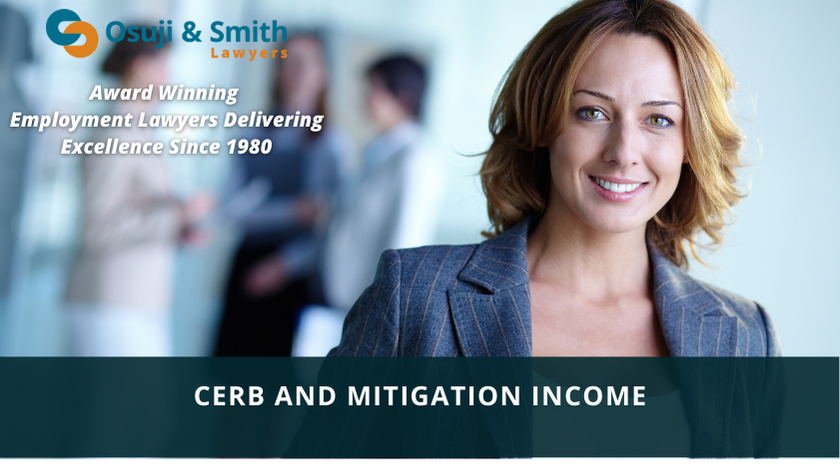 CERB and Mitigation Income - Employment Law Calgary