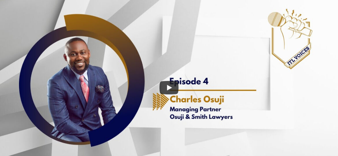 Lawyer Charles Osuji Balancing legal practice with managing a FAST-GROWING LAW FIRM IN CALGARY