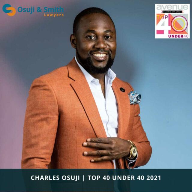Charles Osuji | Top 40 Under 40 2021